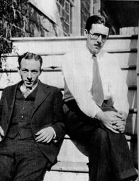 James Thurber and E.B. White 1929